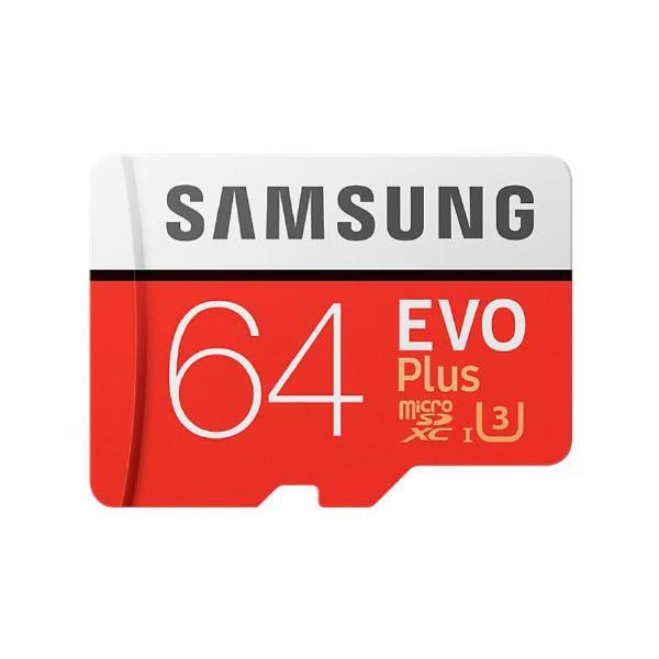 Samsung EVO Plus microSD Card (SD Adapter) 64GB 1