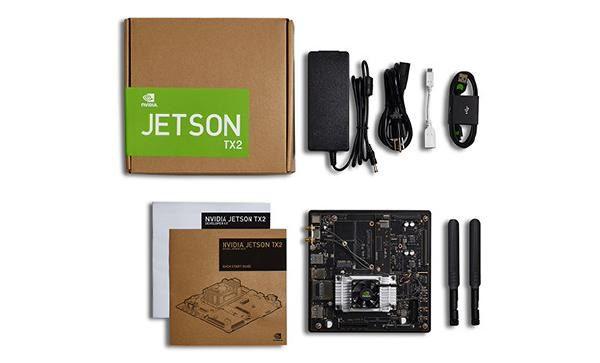 NVIDIA Jetson TX2 Tegra DevKit, USB 3.0 Type A, HDMI, M.2 Key E, PCI-E x 4 Gigabit Ethernet 1