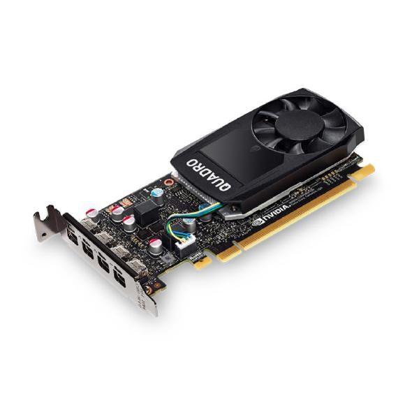 Leadtek Quadro P620 Work Station Graphics Card PCIE 2GB DDR5, 4H(mDP), Single Slot, 1x Fan, Low Profile 1