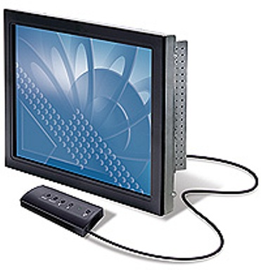 """3M CT1500SS LCD Chassis Touchscreen USB/ 15""""/ 5:4/ 1024 x 768 / 500:1/ Capacitive Single Touch Panel/Slim Bezel 1"""
