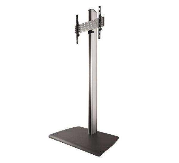 Atdec Single freestanding floor display. Max load: 50kg Universal VESA 1