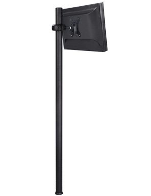 Atdec Spacedec Display Donut Pole 1150mm Black 1