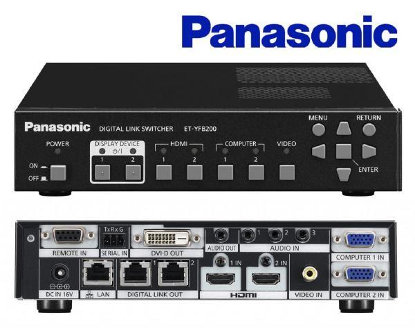 Panasonic YFB200G Digital Interface 1