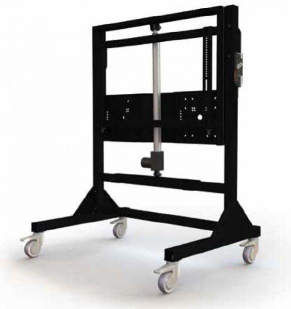 "Gilkon FP7 v3 Mobile Trolley- Flat Screen Lift Mobile (Motorised) - Up to 86"" Screen Size, VESA 800 x 400, Max 120kgs 1"