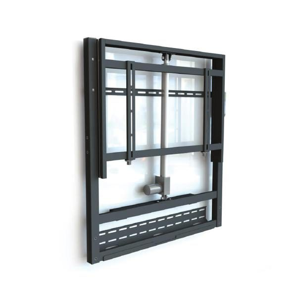 """Gilkon FP7 Wall Mount- Electric Height Adjustment (Motorised) - Up to 86"""" Screen Size, VESA 800 x 400, Max 120kgs 1"""