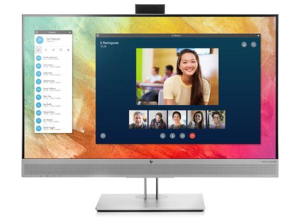 """HP EliteDisplay E273M -1FH51AA- 27"""" FHD 5ms 60Hz IPS/VGA/HDMI/DisplayPort/PIVOT/VESA/ USB HUB/ WEBCAM/MIC/ 1"""