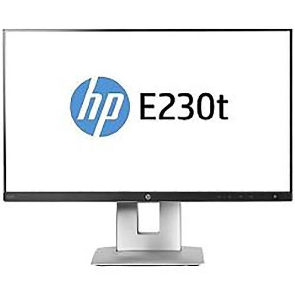 "HP EliteDisplay E230T -W2Z50AA- 23"" FHD Touch 5ms 60Hz VGA/HDMI/DisplayPort/Pivot/VESA 1"