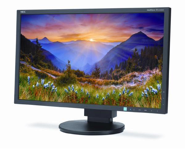 """NEC EA234WMi-BK LED / 23""""/ 16:9/ 1920 x 1080/ 1000:1/ 6ms/ IPS Panel/ VGA,DVI, HDMI, DP/ Speakers/ HAS 1"""
