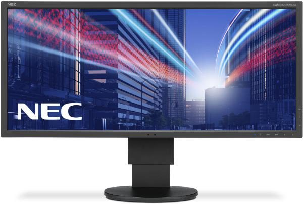 "NEC EA294WMi LED / 29""/ 16:9/ 2560 x 1080/ 1000:1/ 6ms/ IPS Panel/ VGA,DVI, HDMI, DP/ Speakers/ HAS 2"
