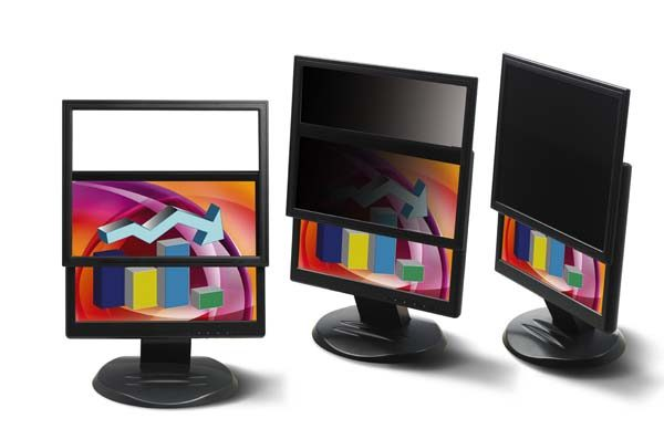 """3M PF220W9F Framed Privacy Filter for 22"""" Widescreen LCD Monitor (16:9) 1"""