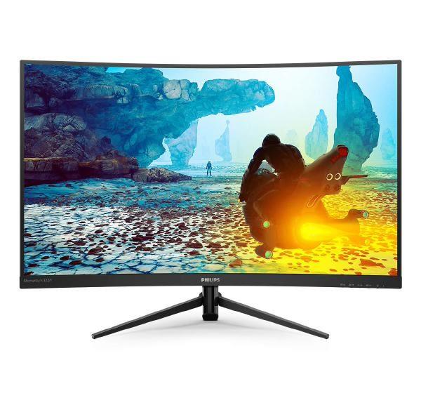 "Philips 32"" 322M8CZ VA LCD, Full HD (1920x1080), 16:9, Vesa Mount, VGA, DisplayPort,HDMI x 2, Kensington lock, 3 Year Warranty 1"