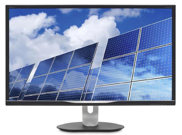 """Philips Monitor 32"""" 16:9 QHD LCD 328B6QJEB, 2560 x 1440, Input- HDMI, MHL, DisplayPort, DVI, and VGA, 4 Year Wty 1"""
