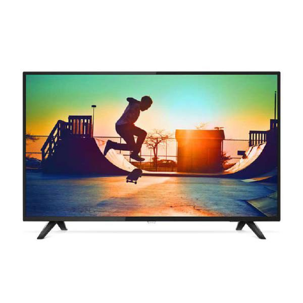 "Philips 6133, 139 cm (55"") 4K Ultra Slim Smart LED TV with Pixel Precise Ultra HD, Quad Core, DVB-T/T2, SAPHI, 3 Year Onsite Warranty 1"