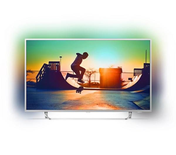 "Philips 7300 series, 65"", Android, 4K Ultra Slim TV, w/ Silver Bezel, Ambilight 3-sided, Quad Core, HDR, DVB-T/T2, 3 Year Onsite Warranty. 1"
