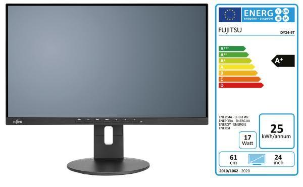 "FUJITSU Display B24-9 TS Pro 24"" Monitor (includes K3750 cable) 1"
