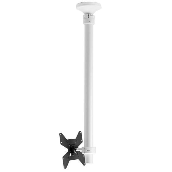 Atdec Telehook 1040 Ceiling Mount Tilt Short (White) 1