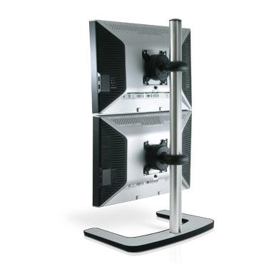 Atdec Visidec Freestanding Dual Monitor Vertical Stand 1