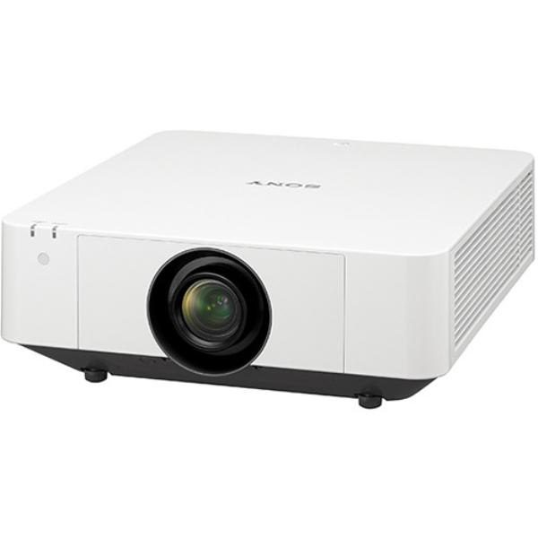 Sony VPLFHZ75W, Laser, 16:10 WUXGA, 3LCD, Large Venue, 6,500 Lumens, Wide Lens Shift, Powered Z/Lens, 3 Year Waranty - White 1