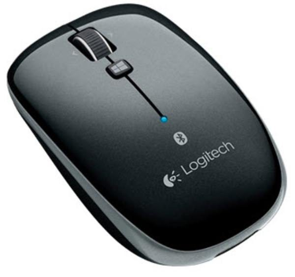 Logitech Wireless Bluetooth Mouse M557, Black, Left/Right Handed (Powered by 2xAA) 1