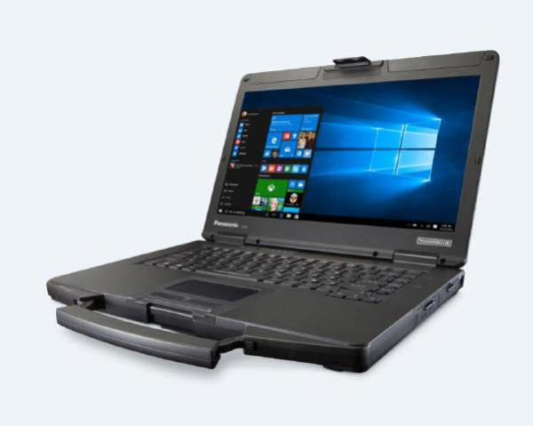 """Panasonic Toughbook CF-54 (14.0"""") Mk3 Touch 500GB HDD, 16GB Performance (High Brightness) & DVD Drive 1"""
