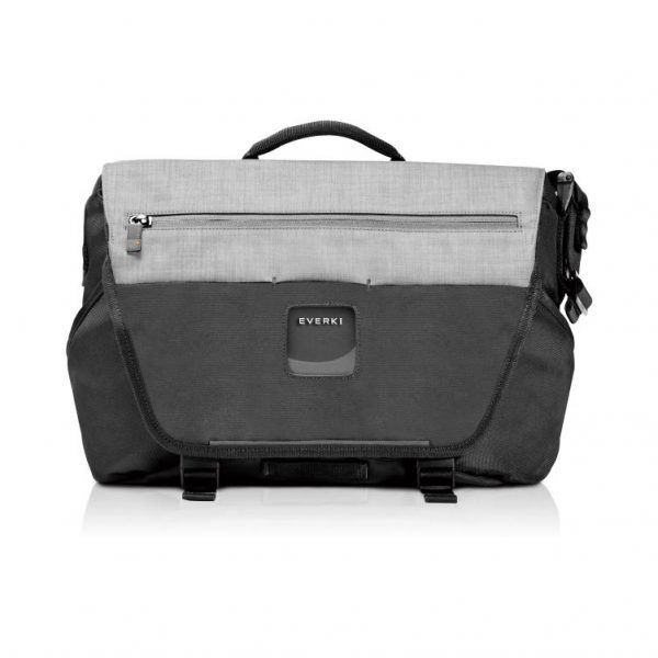 """Everki ContemPRO Laptop Bike Messenger, up to 14.1""""/MacBook Pro 15 - Black (EKS660) with Dedicated Tablet/iPad/Pro/Kindle compartment up to 13"""" 1"""