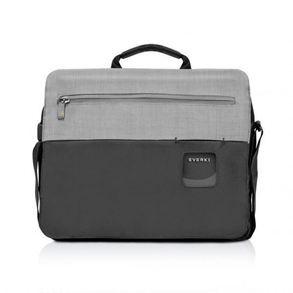 """Everki ContemPRO Laptop Shoulder Bag Black, up to 14.1""""/ MacBook Pro 15 with Dedicated Tablet/iPad/Pro/Kindle compartment up to 13"""" 1"""
