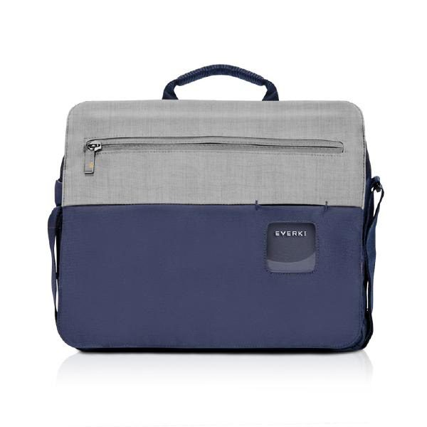 """Everki ContemPRO Laptop Shoulder Bag Navy, up to 14.1""""/ MacBook Pro 15 with Dedicated Tablet/iPad/Pro/Kindle compartment up to 13"""" 1"""