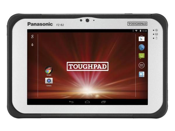 "EX DEMO Panasonic Toughpad FZ-B2 (7.0"") Mk2 with 4G, 12 Point Satellite GPS & Barcode Reader 2"
