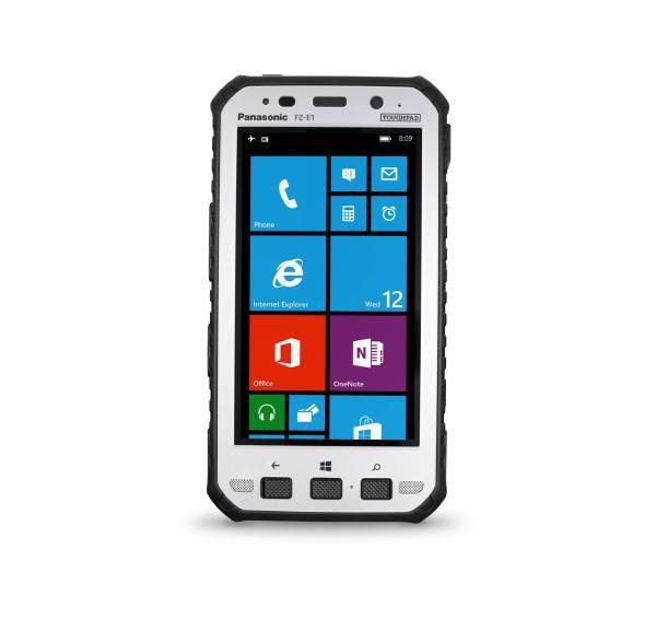"(EX DEMO UNIT) Panasonic Toughpad FZ-E1 (5"") Mk1 with Barcode Reader & Hand Strap 1"