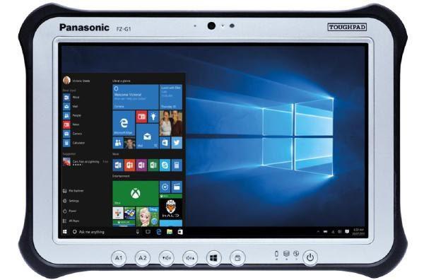 "Panasonic Toughpad FZ-G1 (10.1"") Mk5 with 256GB SSD & MicroSD 1"