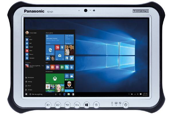 "Panasonic Toughpad FZ-G1 (10.1"") Mk5 with LAN 1"