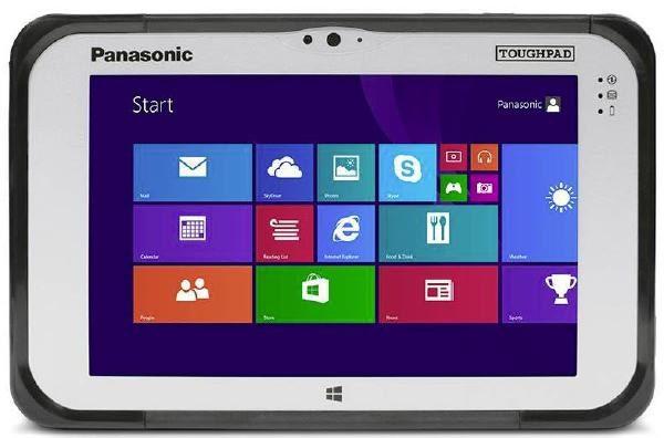 "EX DEMO Panasonic Toughpad FZ-M1 (7.0"") Mk2 with 4G, 12 Point Satellite GPS & 4GB Ram Plus Barcode 1"