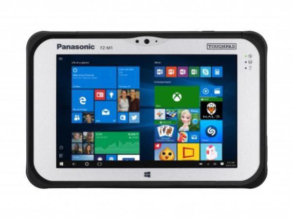 "EX DEMO Panasonic Toughpad FZ-M1 (7.0"") Mk2 with RealSense & Thermal Camera 1"
