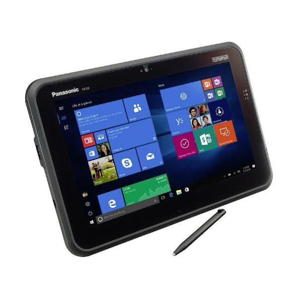 "Panasonic Toughpad FZ-Q2 (12.5"" Semi-Rugged Tablet) Mk1 - 4GB Ram, 500GB SSD & 4G (Keyboard not included) 1"