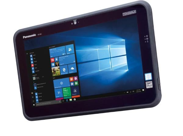 "(EX DEMO) Panasonic Toughpad FZ-Q2 (12.5"" Semi-Rugged Tablet) Mk1 - 4GB Ram, 128GB SSD & 4G (Keyboard not included) 1"