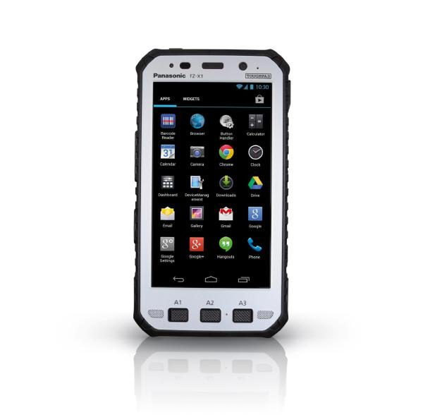 "Panasonic Toughpad FZ-X1 (5"") Mk1 with 4G, 12 Point Satellite GPS, Barcode Reader & Handstrap 1"