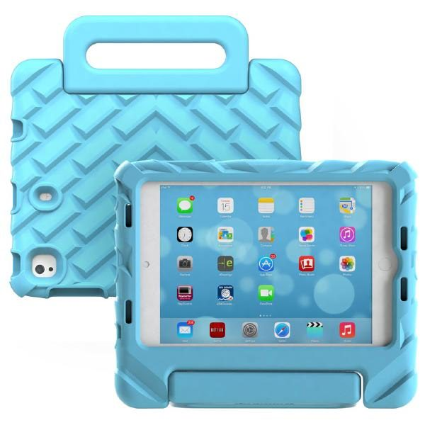 Gumdrop FoamTech for iPad Mini 5 2019 Case BLUE (1,2,3,4) - Designed for: Apple iPad Mini 1, 2, 3, 4, 5  (A1538, A1550, A2133, A2124, A2126, A2125) 1