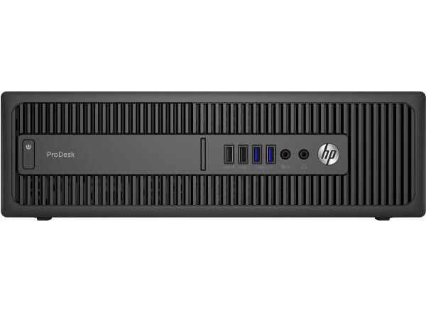 REFURB HP ProDesk 600 G2 SFF i5-6500 / 8GB DDR3 / 240GB SSD + 500GB SATA HDD / DVDRW / W10P / 12 Month MMT / No Keyboard and Mouse 1