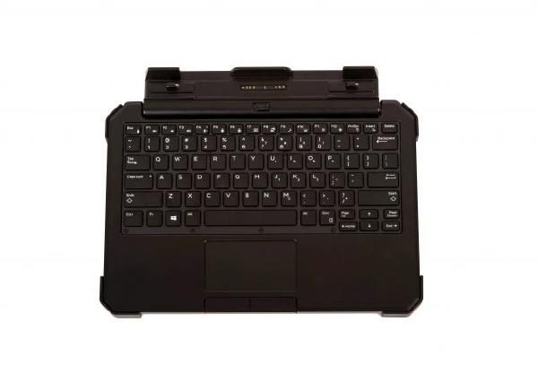 iKey IK-DELL-AT Attachable Keyboard for Dell Latitude 12 Rugged Extreme Tablet 1