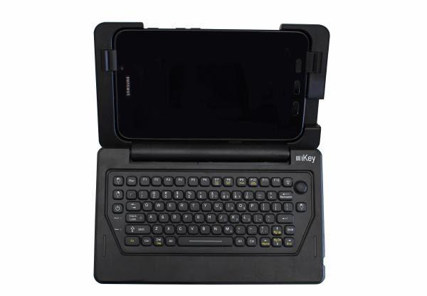 iKey IK-SAM-AT Samsung Galaxy Tab Active2 Rugged Tablet Case & Keyboard (IP54 Rated) 1