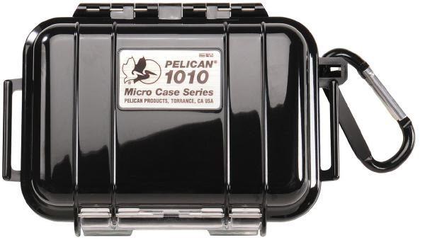 Pelican 1010 Micro Case - Black with Black 1