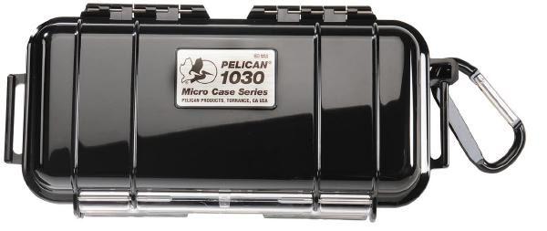 Pelican 1030 Micro Case - Black with Black 1