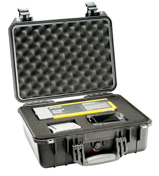 Pelican 1450 Rugged Notebook Carry Case - Black 1