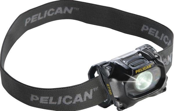 Pelican 2750 Black Headlamp. 2