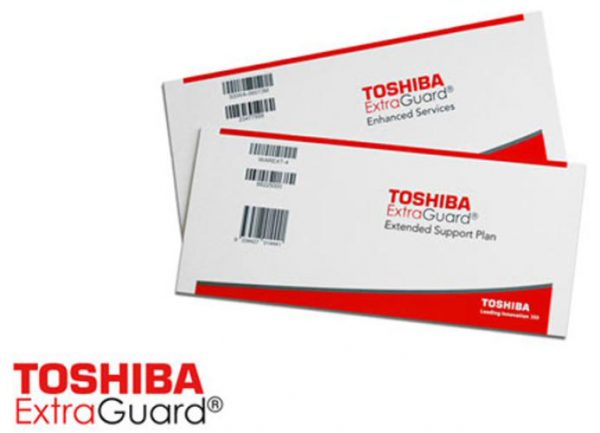 Toshiba Warranty - 3 Year Extended Warranty Cover (for notebooks with standard 1 Year Warranty) 1