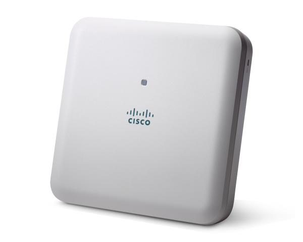 Cisco Aironet 1832i Indoor Access Point with internal antennas, Dual-band 802.11ac Wave 2 with Mobility Express Controller Software 1