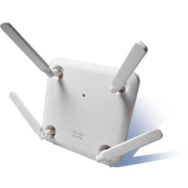 Cisco Aironet 1852 Indoor Access Point with external antenna points, Dual-band 802.11ac Wave 2 1