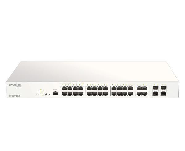 D-Link 28-Port Nuclias Cloud-Managed PoE Switch 1
