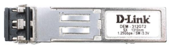 D-LINK DEM-312GT2 1000Base-SX SFP Transceiver (Multimode 1310nm) - 2km 1