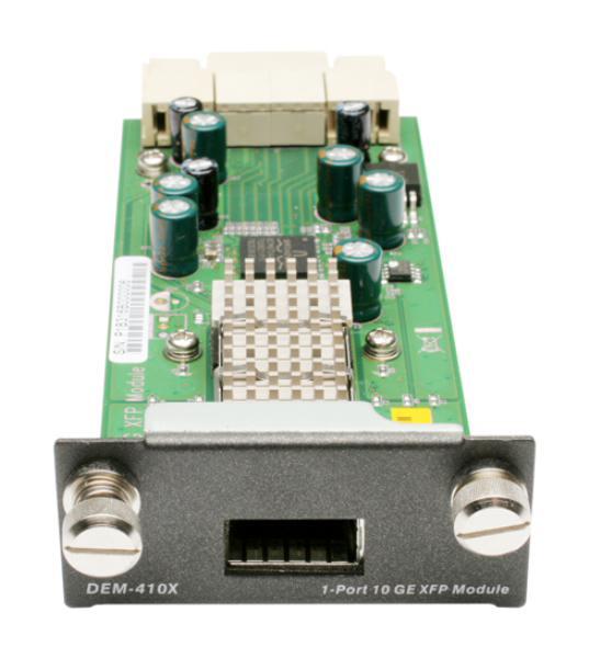 D-LINK DEM-410X 1-Port 10-Gigabit XFP Module for DGS-3400/DGS-3600/DWS-4026 1